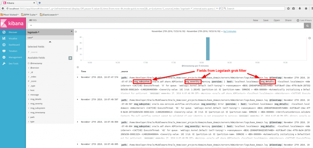Logstash and Fusion Middleware - AMIS Oracle and Java Blog