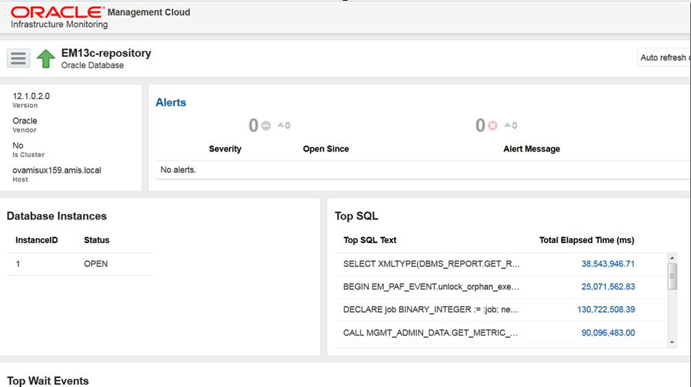 Deploying Oracle Management Cloud for Infrastructure
