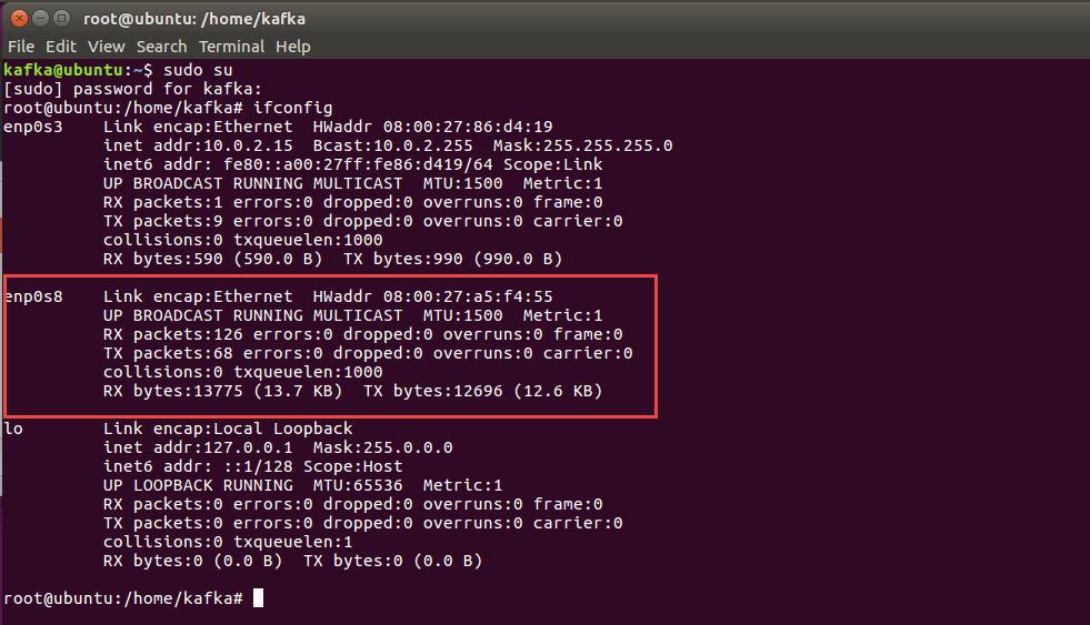 Network access to Ubuntu Virtual Box VM from host laptop