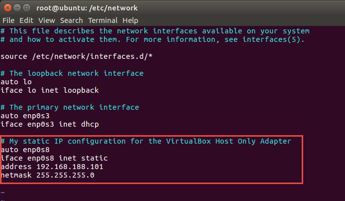 Network access to Ubuntu Virtual Box VM from host laptop - AMIS