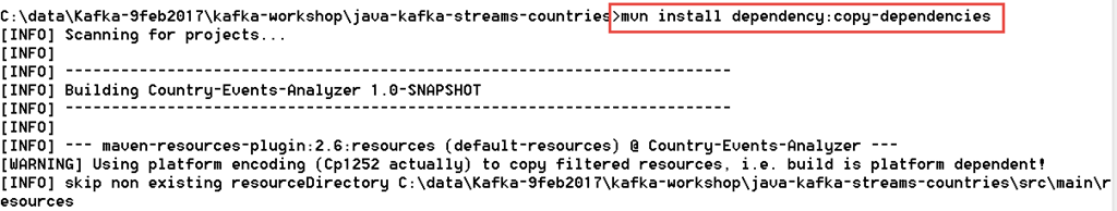 Download all directly and indirectly required JAR files using Maven