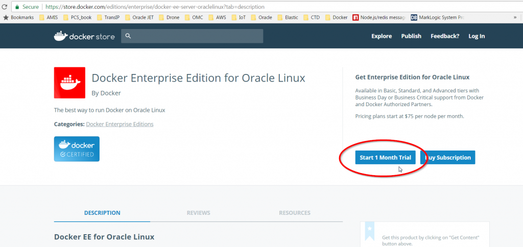 Docker, WebLogic Images on Local Linux - AMIS Oracle and
