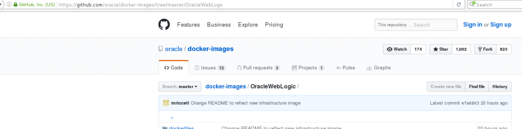 Docker, WebLogic Images on Local Linux - AMIS Oracle and Java Blog