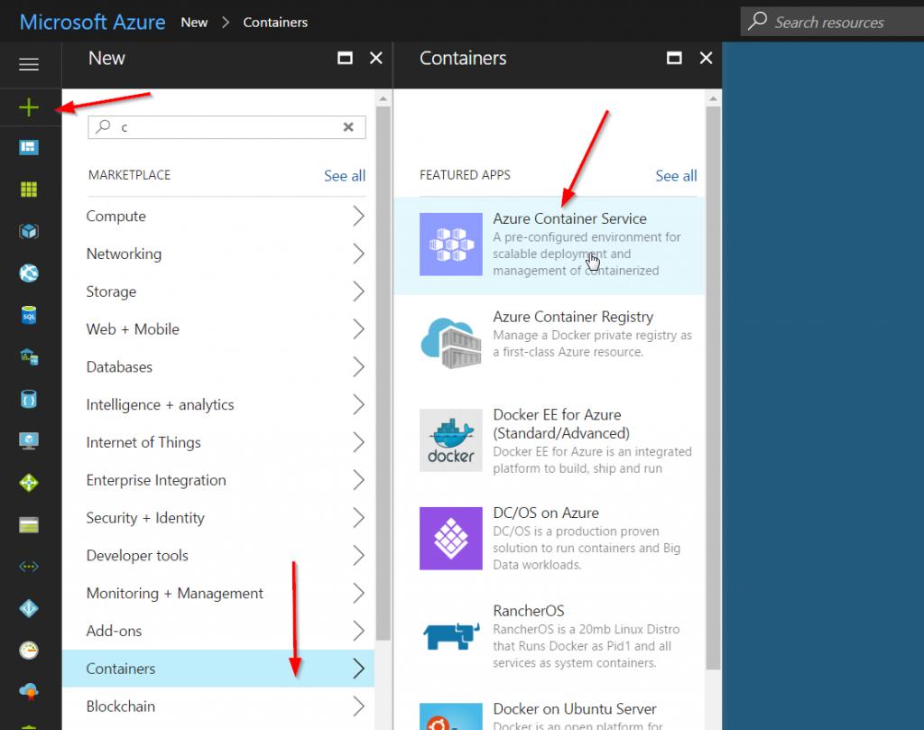 Docker, WebLogic Image on Microsoft Azure Container Service