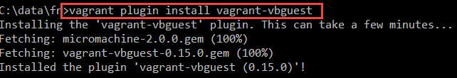 Create Debian VM with Docker Host using Vagrant–automatically include Guest Additions