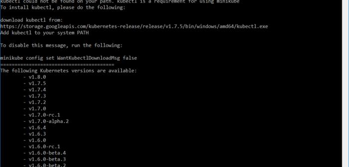 Installing Minikube and Kubernetes on Windows 10 - AMIS Oracle and