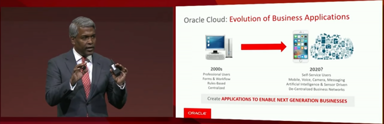 SaaS going forward at Oracle OpenWorld 2017–Smart, Connected, Productivity, Multi-Channel