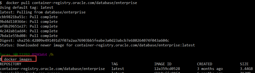 Docker Oracle Driver