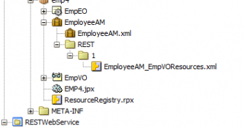 First steps with REST services on ADF Business Components - AMIS