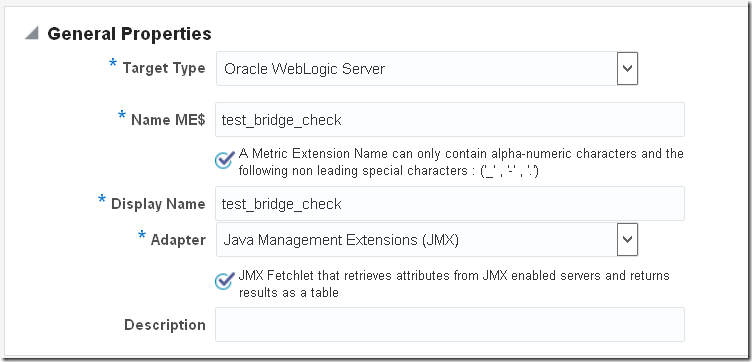 Using Java Management Extensions within Oracle Enterprise Manager
