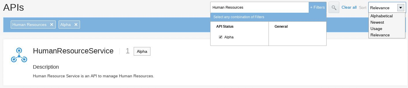 Oracle API Platform Cloud Service: using the Developer Portal for