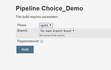 Jenkins 2 0 pipeline: Scripting active parameters for SCM - AMIS