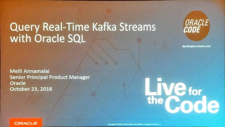 Querying and Publishing Kafka Events from Oracle Database SQL and PL/SQL