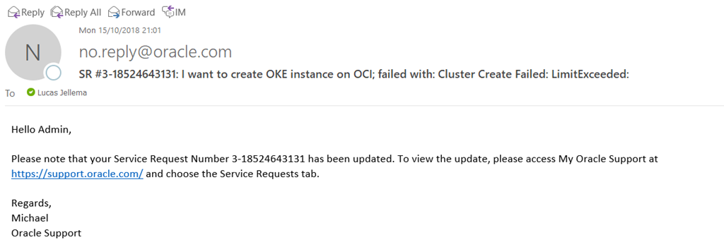 Create OKE Kubernetes Cluster on Oracle Cloud Infrastructure