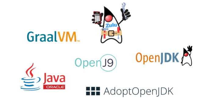JVM performance: OpenJ9 uses least memory. GraalVM most. OpenJDK distributions differ