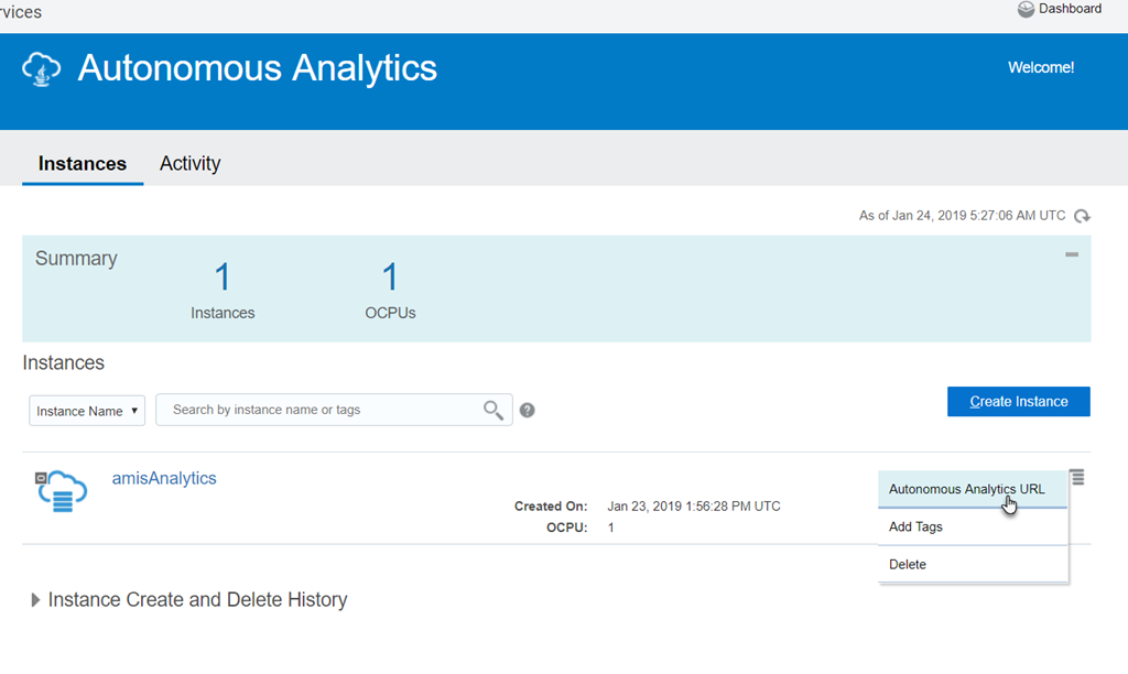 First steps with Oracle Analytics Cloud - Gather, Explore