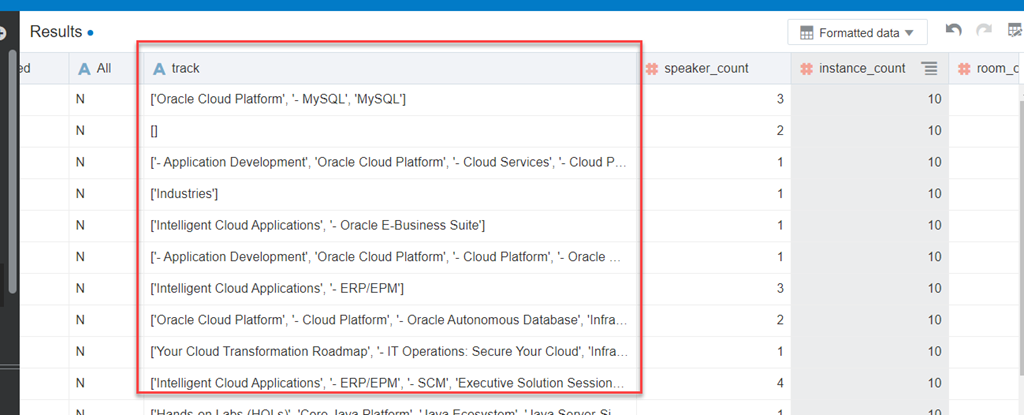First steps with Oracle Analytics Cloud - Gather, Explore, Wrangle