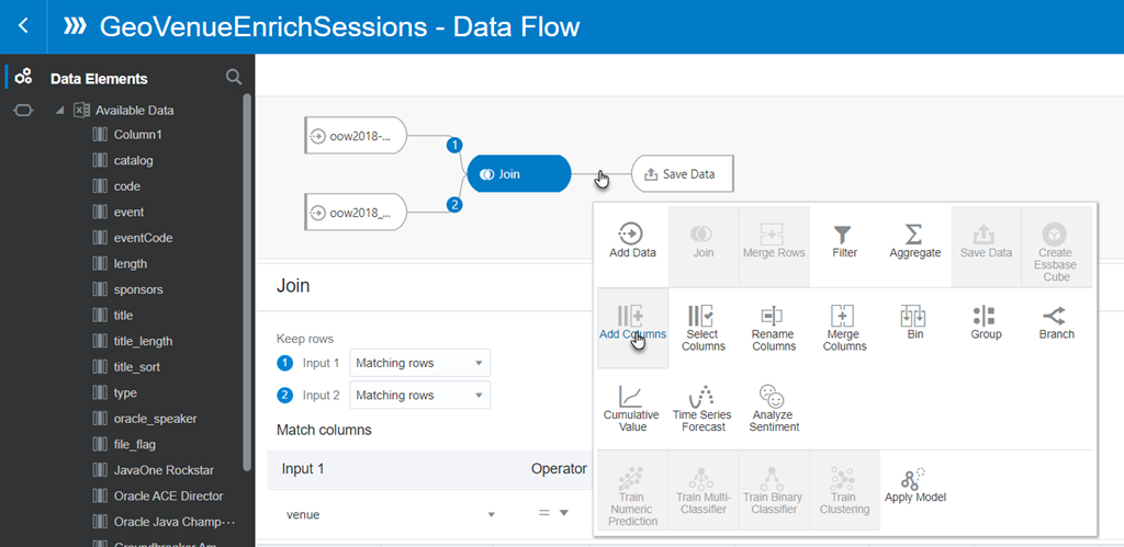 Oracle Analytics Cloud - Data Flow to produce a Date Value
