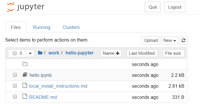 Running an enriched Jupyter Notebook runtime in a Docker