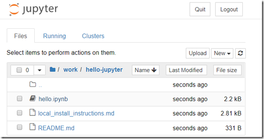 Running an enriched Jupyter Notebook runtime in a Docker Container