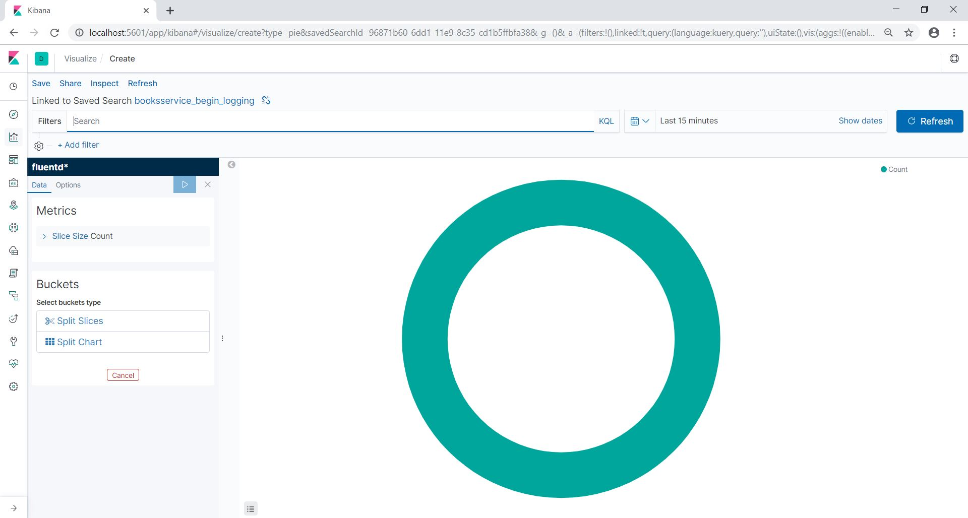 Using ElasticSearch, Fluentd and Kibana (for log aggregation