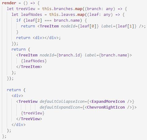 render code