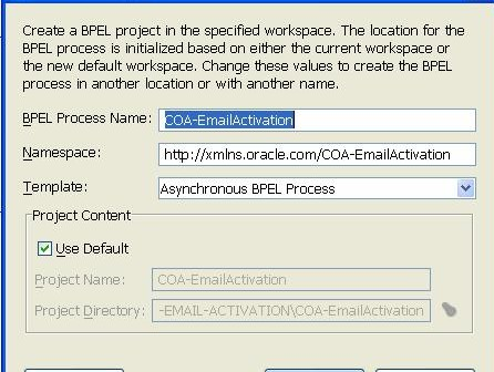 SOA and Email in action - Starting a BPEL process instance by