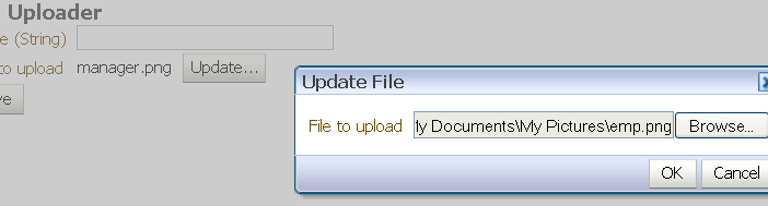 ADF 11g - Validation of Uploaded Files with the inputFile component
