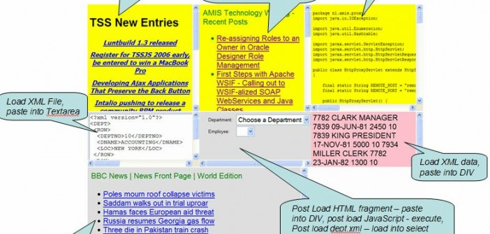 Ajax-based Post Loading of resources in HTML pages - for