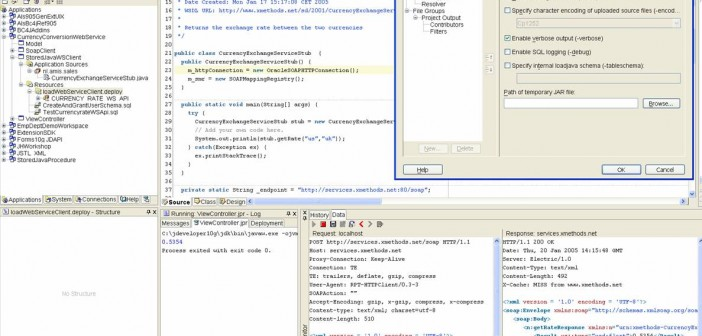 Consuming Web Services from PL/SQL - Part I: Using Java