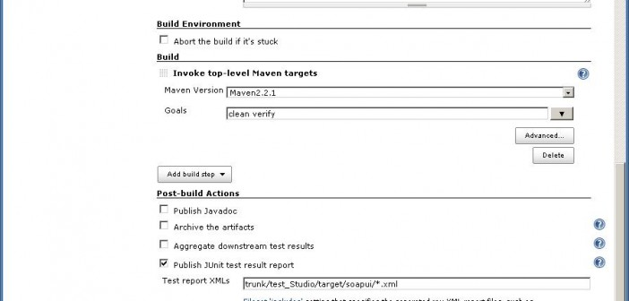 Automatic testing Oracle Service Bus using Jenkins, maven and SoapUI