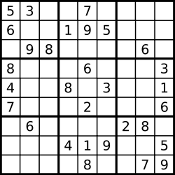 sudoku solving with one sql statement using recursive subquery