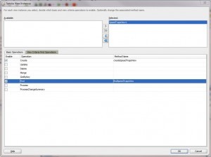 Fig. 5 Including a View Object instance and its operations to a Service Interface.