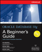 Oracle Database 10g A Beginner's Guide Cover