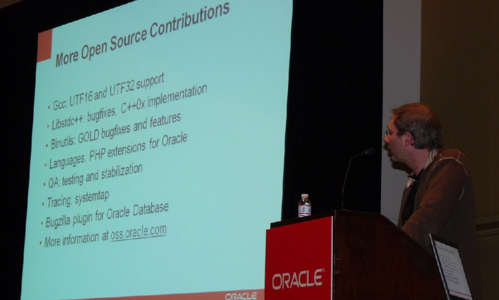 Some of Oracle's Open Source contributions