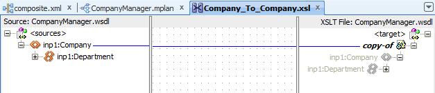 Copy input to output in mapping