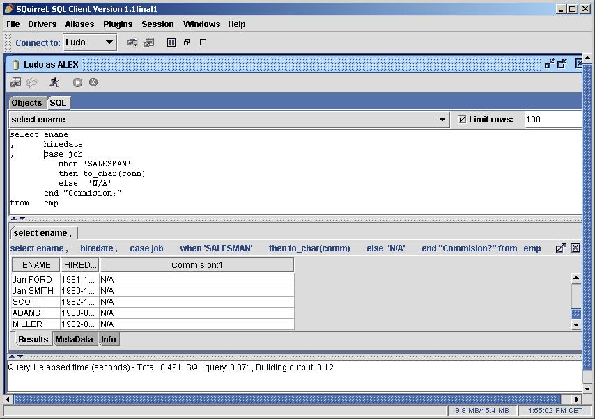 SQuirrel-SQL Editor