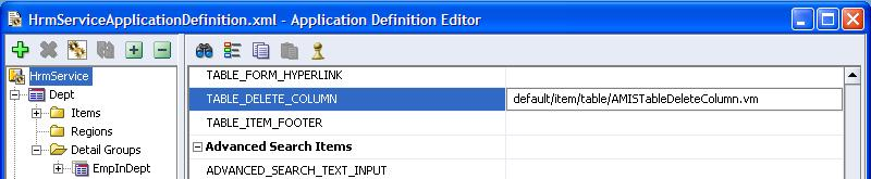 ADF - Implement a 'Delete this record' icon (action) in an ADF Table