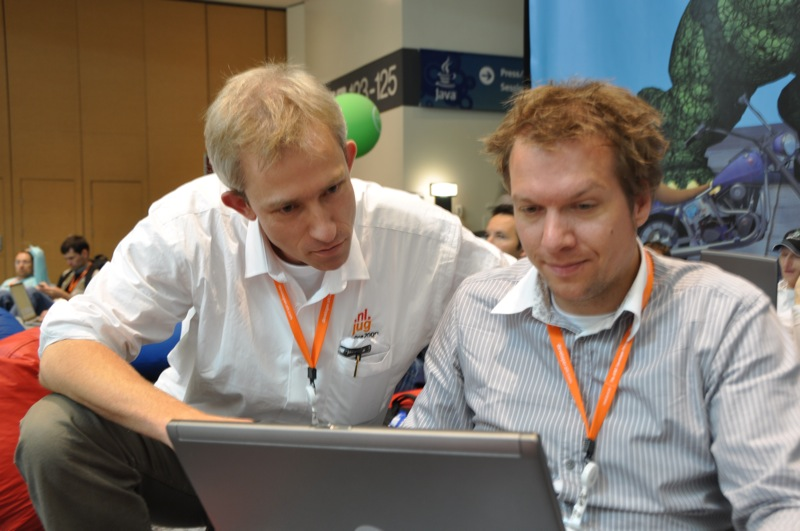 Lucas and I at JavaOne 2009