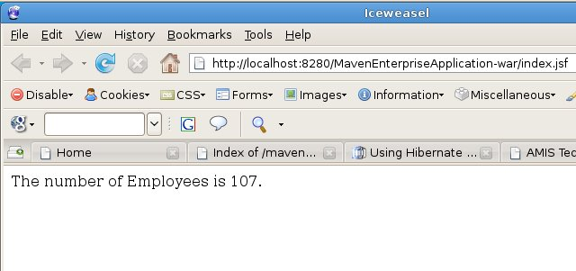 Combining Hibernate and Facelets with Maven, Netbeans and