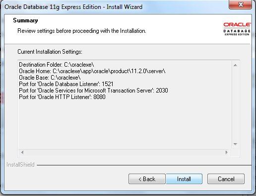 Oracle XE 11gR2 - the free eXpress Edition for Oracle Database 11gR2