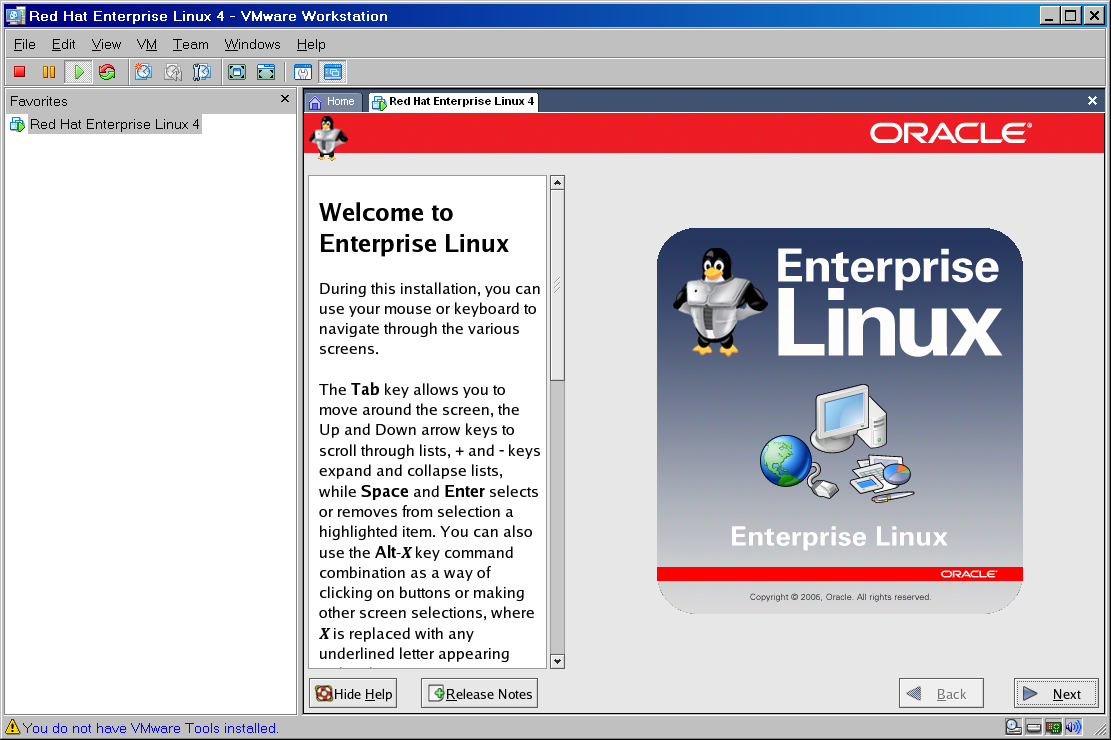 Welcome to Oracle Enterprise Linux