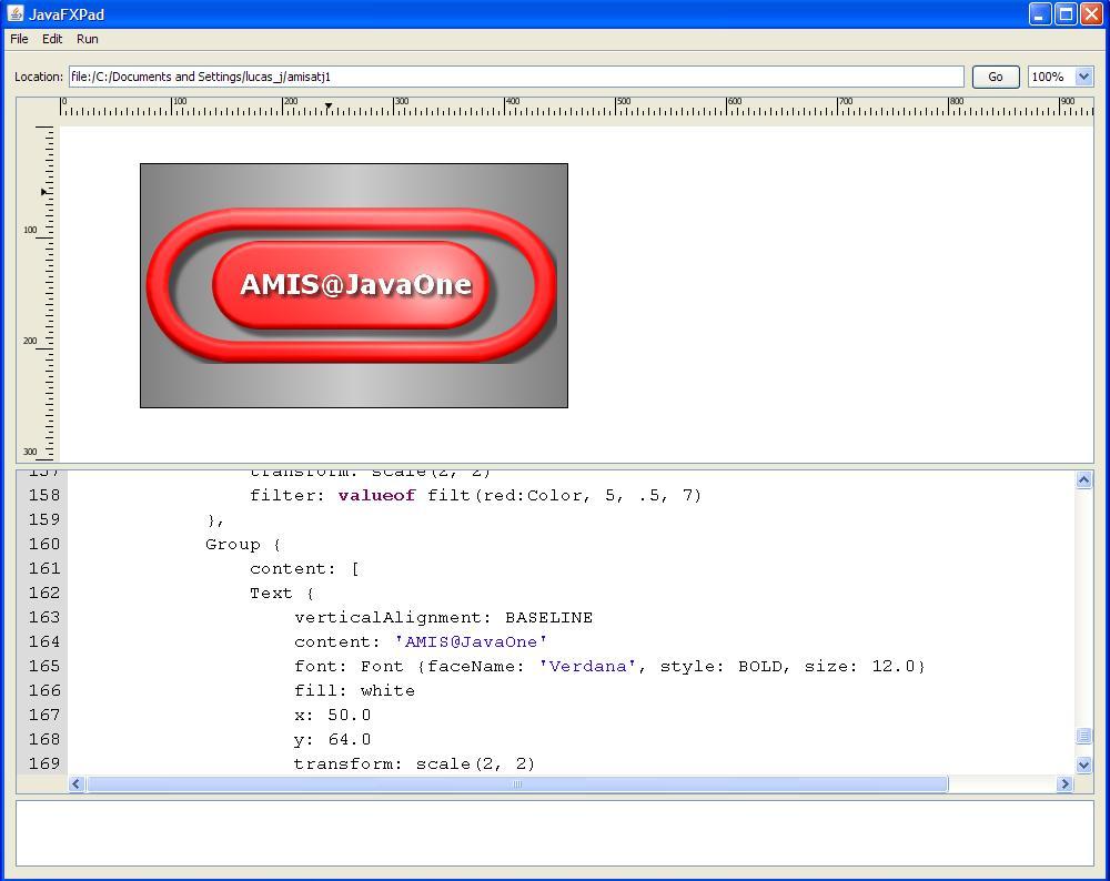 JavaOne 2008 - The wonderful world of JavaFX, JSR-268 (Portlet