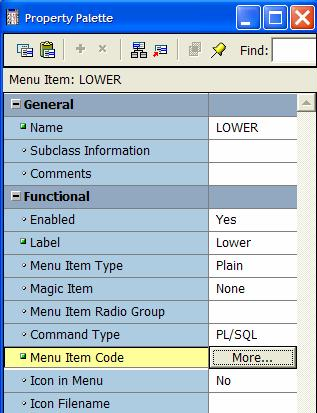 Using Object Libraries for advanced Oracle Designer Form Generation