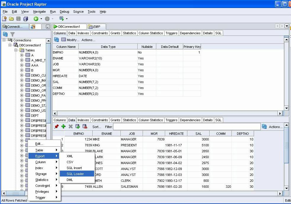 Oracle releases Raptor - free tool for Database Development (SQL, PL/SQL, database object ...