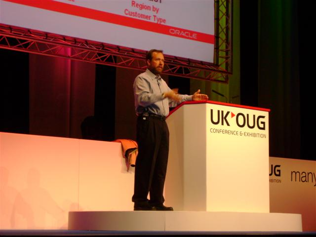 Changing appearences - UKOUG 2007