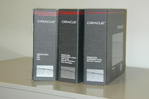 Oracle 4.1 Documentation (3 volumes)